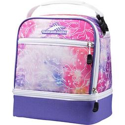 High Sierra Stacked Compartment Lunch Bag 15 Colors Travel C
