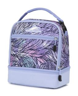 High Sierra Stacked Compartment Lunch Bag, Feather Spectre/P