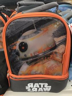 Star Wars Lunch Bag Thermal Cool Thermos Insulated Kids Back
