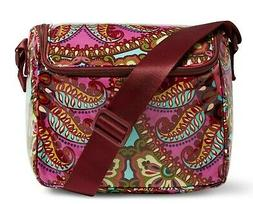 Vera Bradley Stay Cooler Lunch Bag Resort Medallion NWT FREE