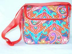 NEW Vera Bradley STAY COOLER PAISLEY IN PARADISE Insulated L