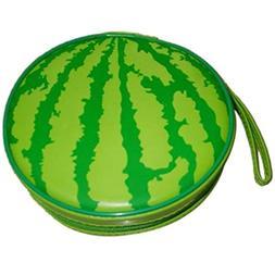Storage Bags - Green Watermelon Pattern 24 Capacity Cd Dvd R