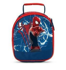 Disney Store Authentic Spiderman Super Hero Lunch Box Tote B