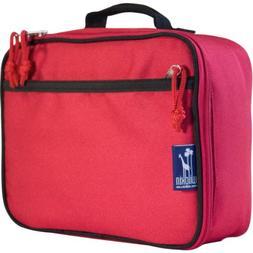 Wildkin Straight-Up Red Lunch Box