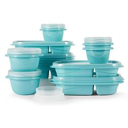 Rubbermaid TakeAlongs 10-Day Meal Prep Kit, Reflecting Pool,
