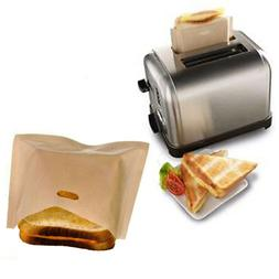 Toastie Bags Reusable Toaster Pocket Sandwich Lunch Pouches