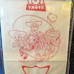Disney Toy Story 15 Decorated Bags Color Me Woody Jessie Buz