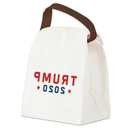 CafePress Trump 2020 Canvas Lunch Bag with Strap Handle