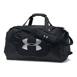 Under Armour Undeniable 3.0 Medium Duffle Bag, Black /Silver