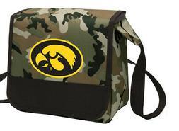 University of Iowa Lunch Bag CAMO Iowa Hawkeyes Lunchbox Coo