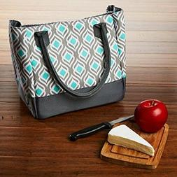 Fit & Fresh Womens Vienna Insulated Lunch Bag with Ice Pack,