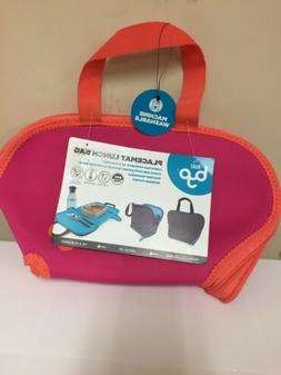 W2 BYO Built Bring Your Own Placemat Insulated Lunch Bag Tot