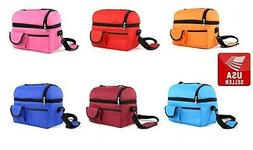 Waterproof Picnic Bag Insulated Thermal Lunch Box Cooler Sto