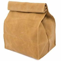 Waxed Canvas Reusable Lunch Bag
