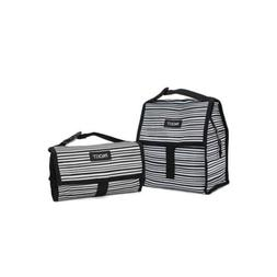 Wobbly Stripes Freezable Lunch Bag For Home Kitchen Storage