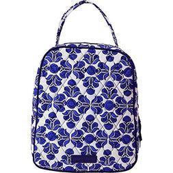 Vera Bradley Women's Lunch Bunch Cobalt Tile Handbag