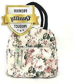 wonderful flower Insulated Lunch Box Cooler Bag lunch bag fl