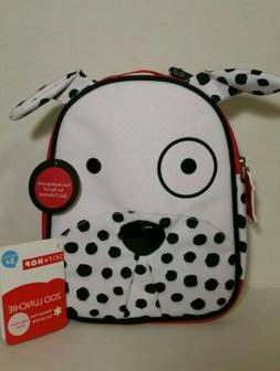 Skip Hop Zoo Lunchies Insulated Lunch Bag Dalmatian Back To